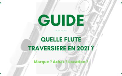 Quelle flûte traversière acheter en 2021 ?